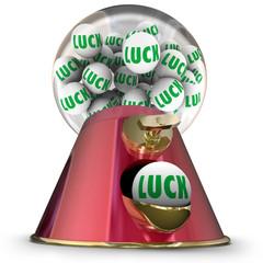 Luck Gumball Machine Dispenser Random Winner