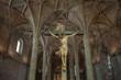 Christ Crucified sculpture in Jeronimos Monastery, Lisbon, Portu