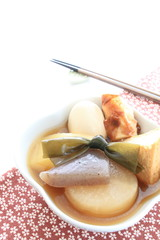 Japanese food, Oden for summer simmered foor image