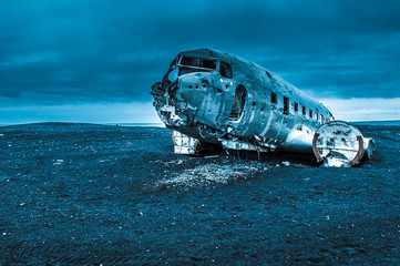 Dakota plane wreckage, Iceland