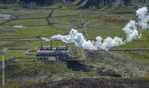 Nesjavellir geothermal power station, Iceland - 66848589