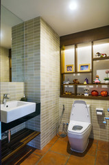 Elegant restroom