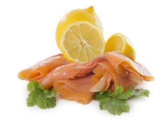 Rodajas de salmón