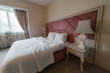 GABALA - MAY 18: Room in Riverside Hotel on May 18, 2014 in Gaba