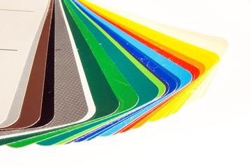 Farbfächer - Farbmuster