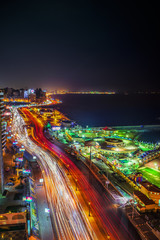 Alexandria City at Night