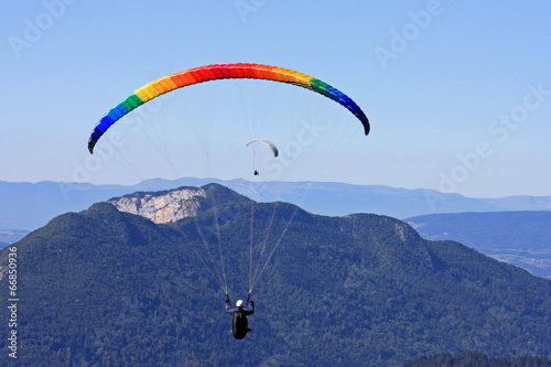 paraglider in the Alps