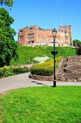 Tamworth castle and gardens © Arena Photo UK