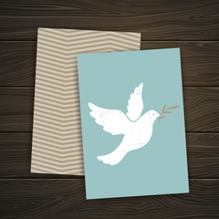Vector Illustration of a Peace Design