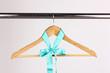 Beautiful turquoise bow hanging