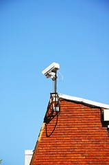 Security camera on building, Tamworth © Arena Photo UK