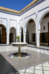 palais bahia patio fontaine