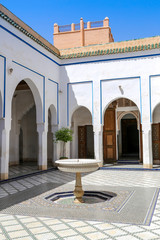 palais bahia patio fontaine 2