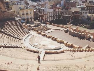 Teatro Romana in Cartagena,Spain