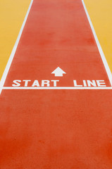 Start line vertical
