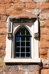 Castle window, Tamworth © Arena Photo UK