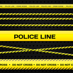 Police lines