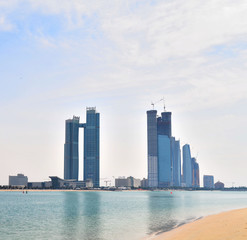 Skyscraper in Abu Dhabi, United Arab Emirat