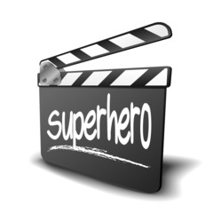 Clapper Board Superhero