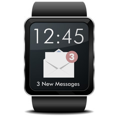 Smartwatch Mail