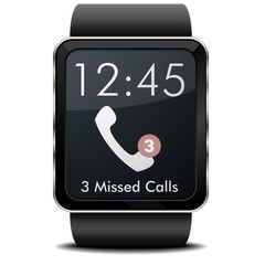 smartwatch missed calls