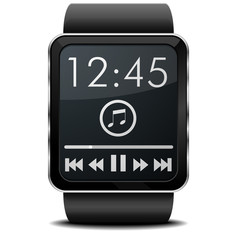 Smartwatch Music
