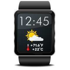 Smartwatch Weather