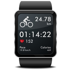 Smartwatch Bike Fitness