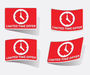 Limited Time Offer Sticker Set