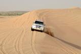 Jeep safari around Dubai; UAE