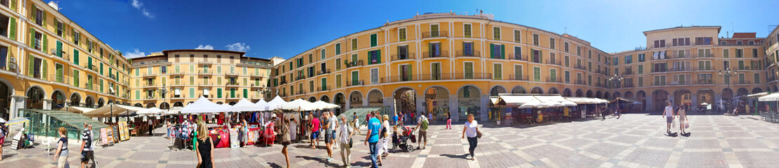 Placa Major, Palma de Mallorca - Panorama