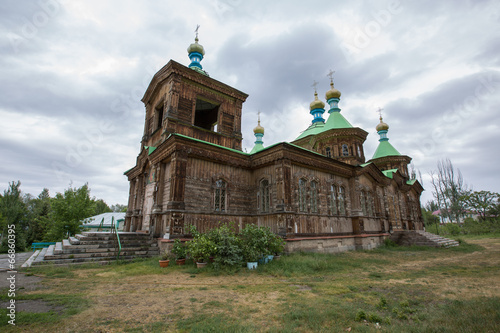 canvas print picture orthodoxe Kirche Karakol