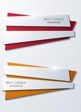 Fototapety Vector moder banners element design.