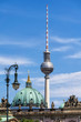 canvas print picture - Fernsehturm