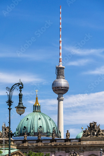 canvas print picture Fernsehturm