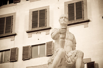 Bande Nere statue, Florence