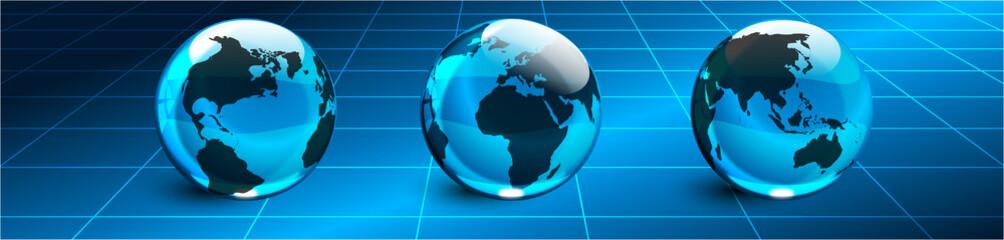 mondo, connessioni, link, businessman
