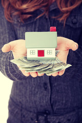 Real estate loan concept