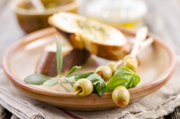Olivenspieße