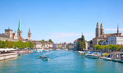 Zurich in summer