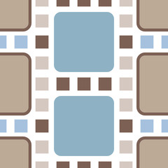 Classic retro squares seamless pattern