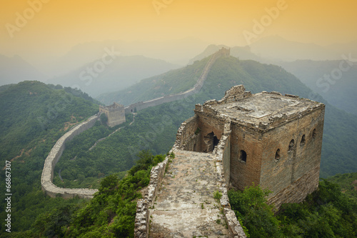 Staande foto Chinese Muur Great Wall of China