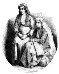 2 Traditional Oriental Women