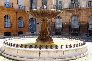 Springbrunnen Aix-en-Provence