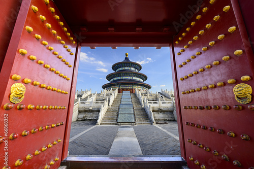 Staande foto Beijing Temple of Heaven in Beijing, China