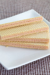 wafer strawberry