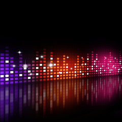Multicolor Party Background