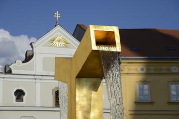 Goldener Brunnen Pilsen, Tschechien