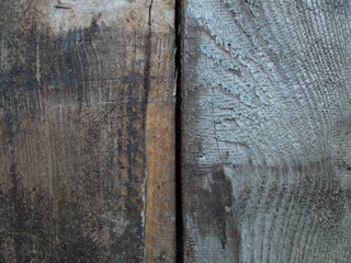 Old wooden planks vintage background