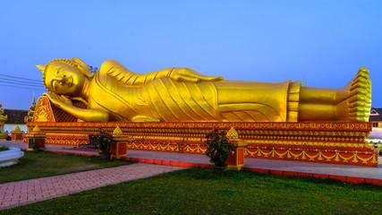Lining Budha - Vientiane, Laos